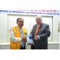 Visit By Lions International President